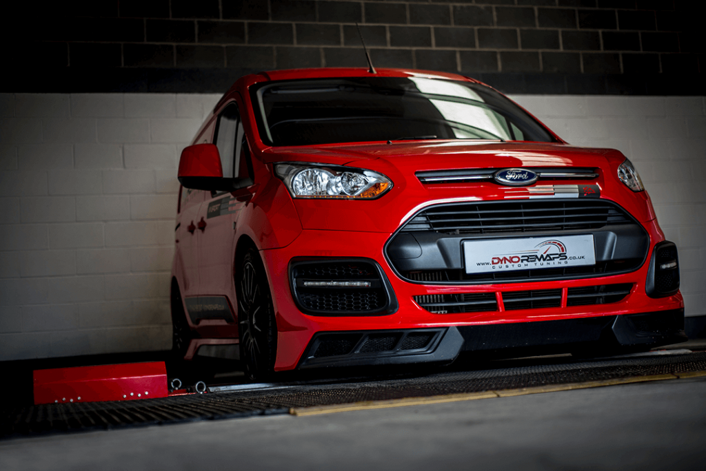 Red Focus ST on Dyno