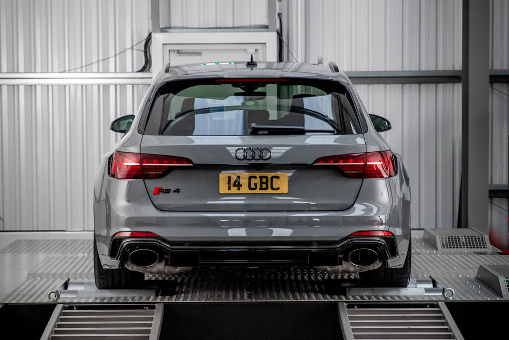 Rear of Audi RS 4