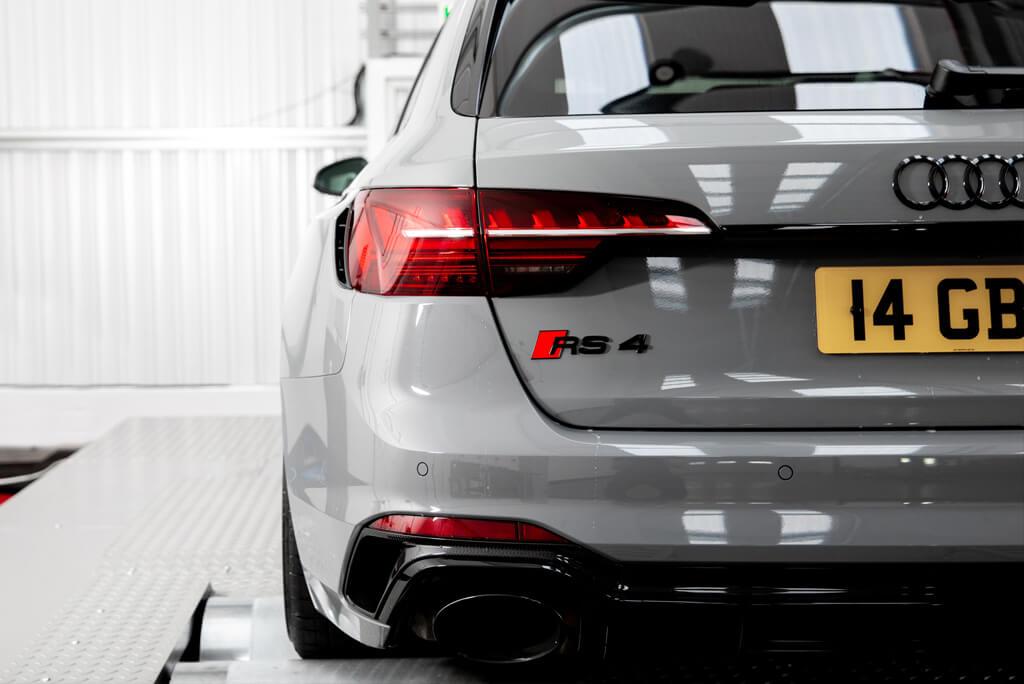 Rear Audi RS 4