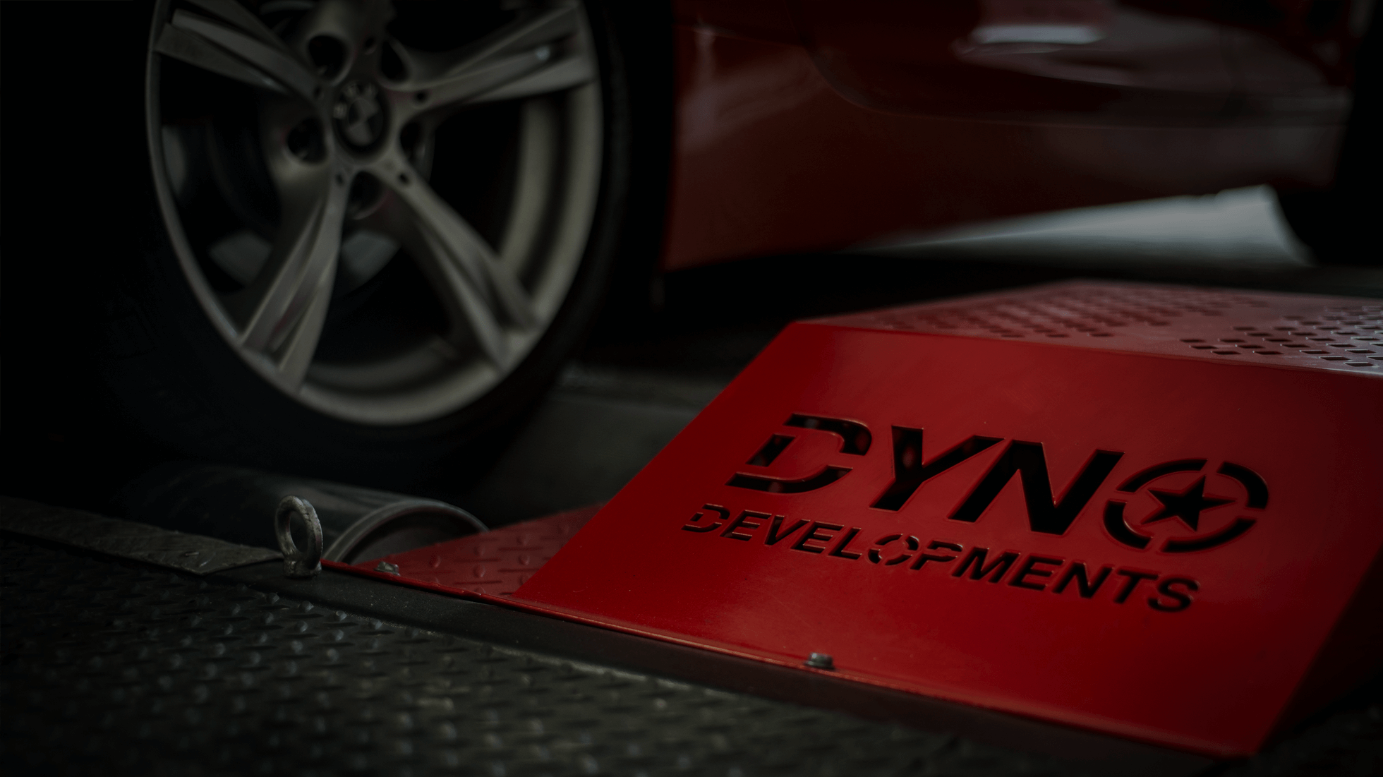 dyno and wheel at stockton premises